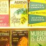 Couvertures de premières éditions des romans de l'écrivain britannique.