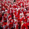 NOEL. Les habitants de Bristol, ville du sud-ouest de l'Angleterre ont démarré avec panache les célébrations de Noël. Ils étaient près de 2000, habillés en Père Noël, à participer à la «Santa Run», course organisée au profit de l'hôpital pour enfants de la ville.
