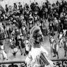 Sur le tournage du film Marie-Antoinette de Jean Delannoy, en 1953.