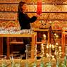 Hotel Beldi Country Club... on revient pour faire des emplettes dans le souk qu'abrite la propriété: tapis, linge de maison, verre Beldi ou poteries, sans avoir à négocier...