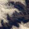 «Les hauteurs du Jura se distinguent clairement dans une mer de nuages.»