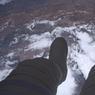 « Concrètement, une sortie extravéhiculaire, c'est ça : 400 km de vide sous les pieds.»