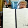 ABROGATION. Donald Trump a signé, vendredi 3 février, un « executive order », demandant une analyse des effets de la loi Dodd-Frank. Cette loi, mise en œuvre par l'administration Obama, a permis de réguler l'activité bancaire suite à la crise de 2008. A défaut d'abolir la loi, Il espère alléger la réglementation bancaire américaine.
