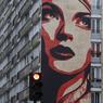 Après trois jours de travail intense en juin 2012, le célèbre artiste américain Franck Shepard Fairey a réalisé ici sa plus grande fresque «Rise about Rebel», de 40 mètres de haut. Il dénonce une femme victime de l'oppression qui la dépasse. À voir au 93, rue Jeanne d'Arc (Paris XIIIe).