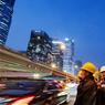 Située à l'est du nouveau quartier des affaires, la tour CCTV (siège de la télévision centrale) imprime sa marque dans le ciel de Pékin. Véritable défi architectural, cette arche est le symbole du nouveau Pékin.