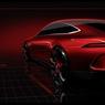 C'est la surprise du stand Mercedes : le concept GT fête les 50 ans d'AMG en même temps qu'il installe l'idée d'une variante 4 portes de l'AMG-GT. Ce véhicule étrenne une motorisation hybride rechargeable.