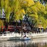 Le lac du quartier d' Houhai où les Pékinois ont l'habitude de se retrouver le soir. Pour les touristes, une belle invitation romantique au sein d'une ville à la fois moderne et traditionnelle.