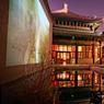 Reconverti en espace d'exposition, le Temple, superbe ancien temple bouddhiste, participe à cette dynamique créative qui attire des artistes du monde entier.