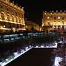 La place Stanislas éclairée lors de la dernière édition du «Jardin éphémère». La ville de Nancy a reçu le prix de la mise en valeur du patrimoine avec la commune mayennaise de Château-Gontier-Bazouges.