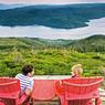 Le long de l'un des bras de Bonne Bay, la nature dévoile tous ses charmes. On ne peut que méditer face à ses paysages spectaculaires.