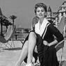 Sophia Loren au Festival de Cannes en 1954.
