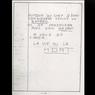 Une lettre de menaces reçue par le grand-père de Grégory en 1983.