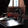 Le bureau où Alexis de Tocqueville (1805-1859) rédigea ses mémoires.