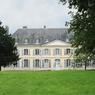 Le château d'André Gide (1869-1951) à Cuverville, près de Caen.