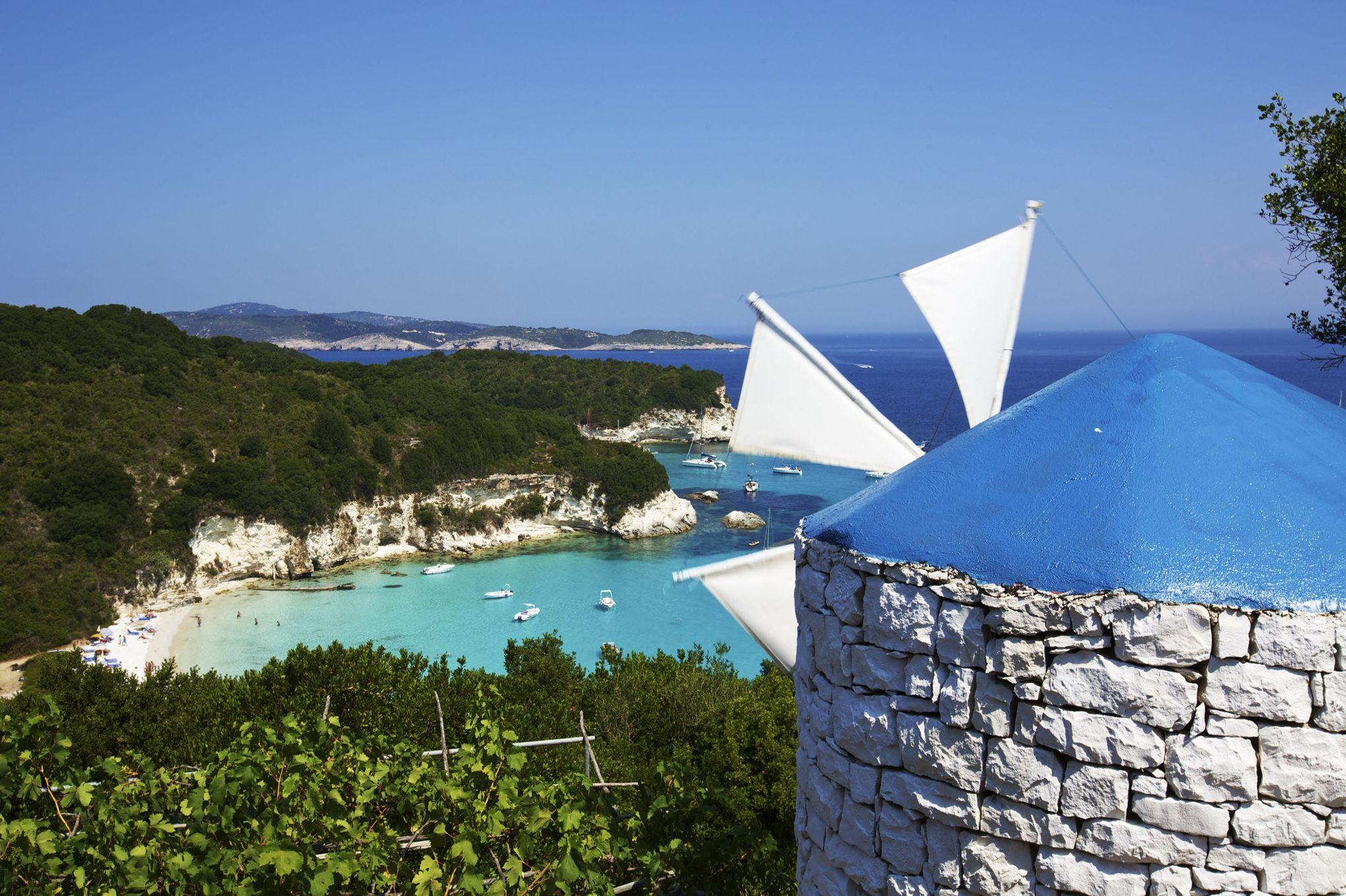 paxos, l'île grecque refuge