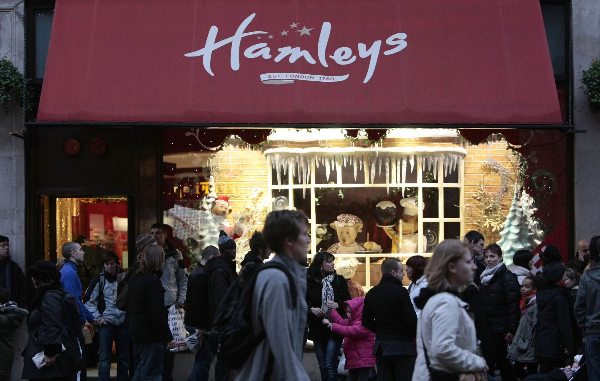 Hamleys ouvre le plus grand magasin de jouets d 39 europe moscou - Grand magasin de jouet londres ...