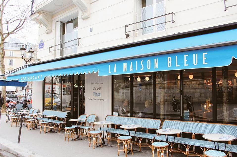 La maison bleue brasserie de quartier for Animateur maison de quartier