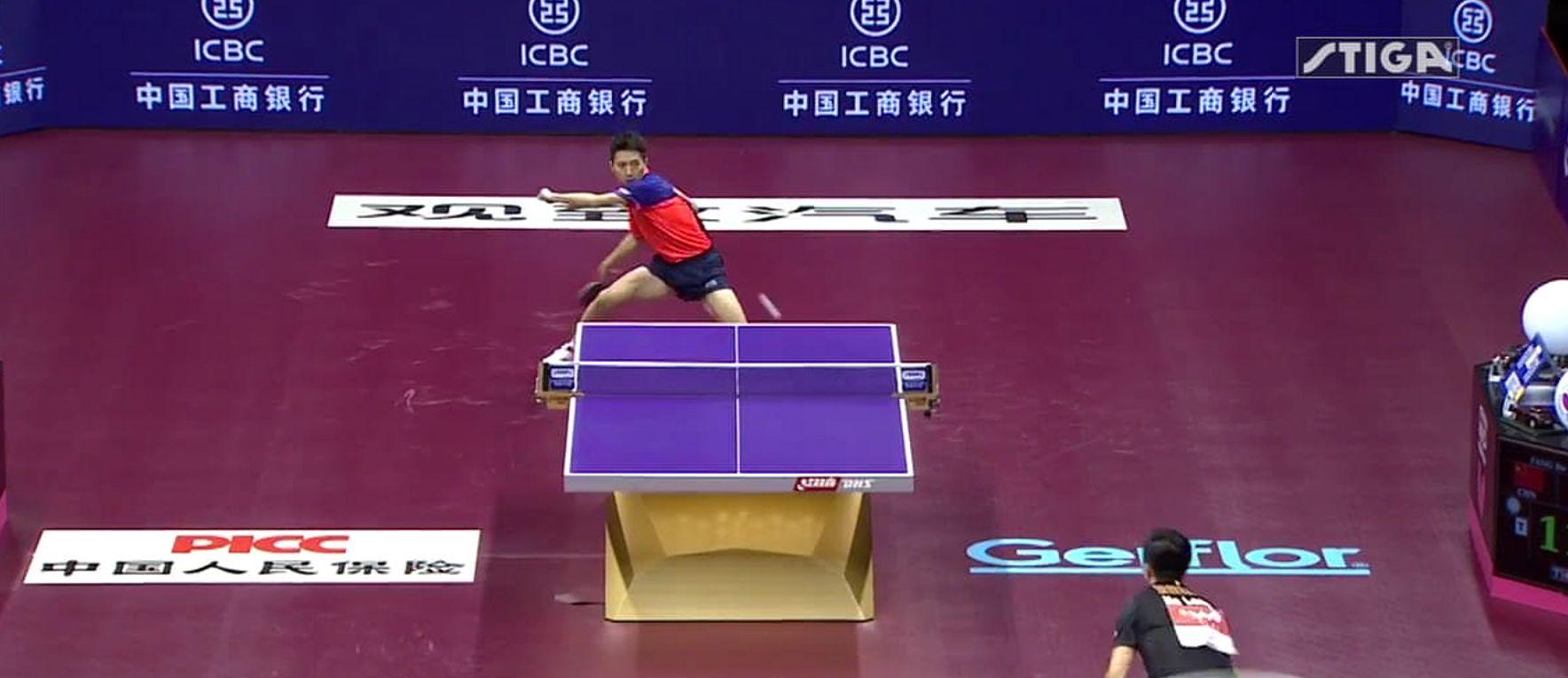 Tennis De Table Le Point Du Si Cle Marqu En Finale Des Mondiaux