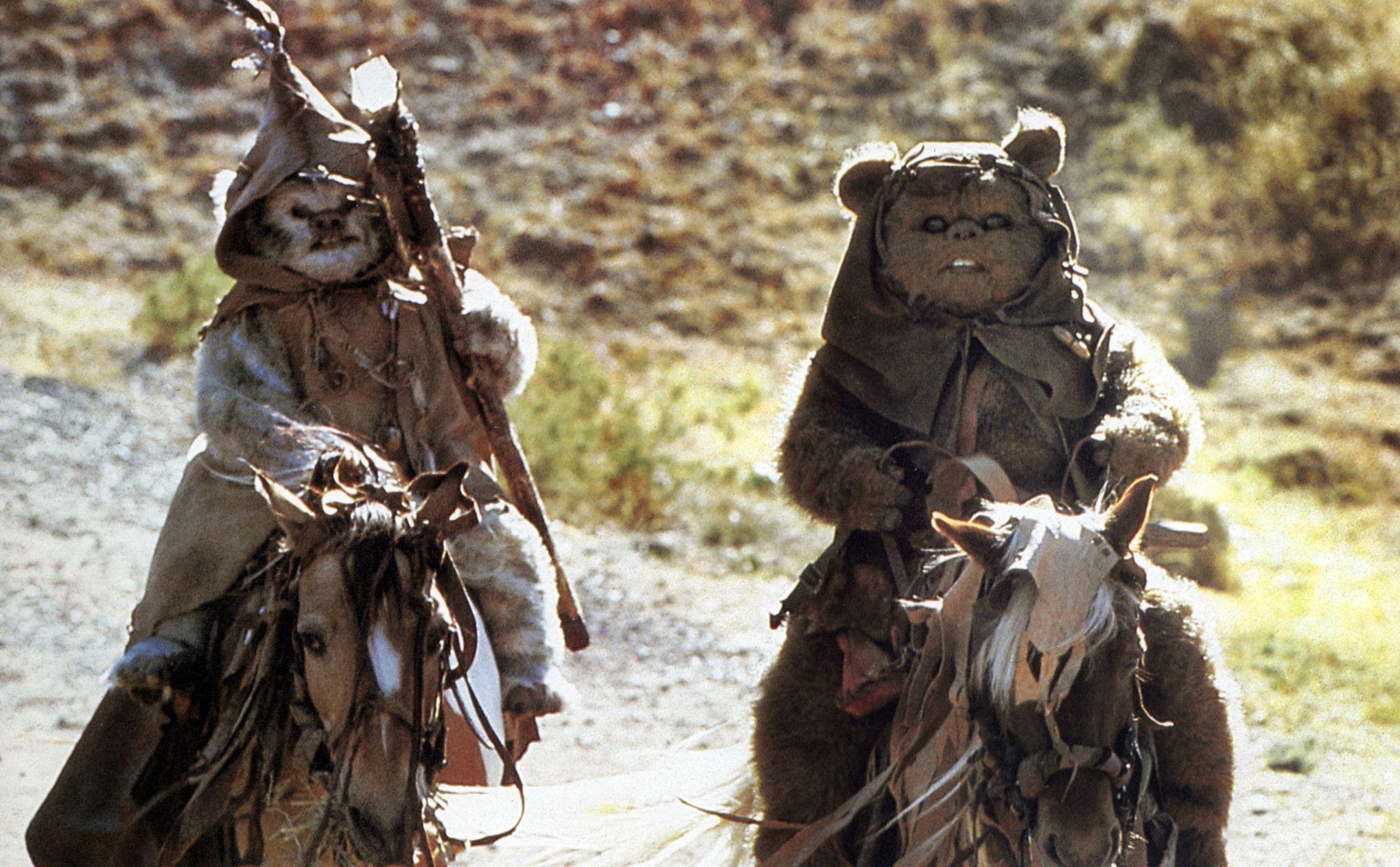 Star wars vii horreur malheur les ewoks veulent revenir - Personnage star wars 6 ...