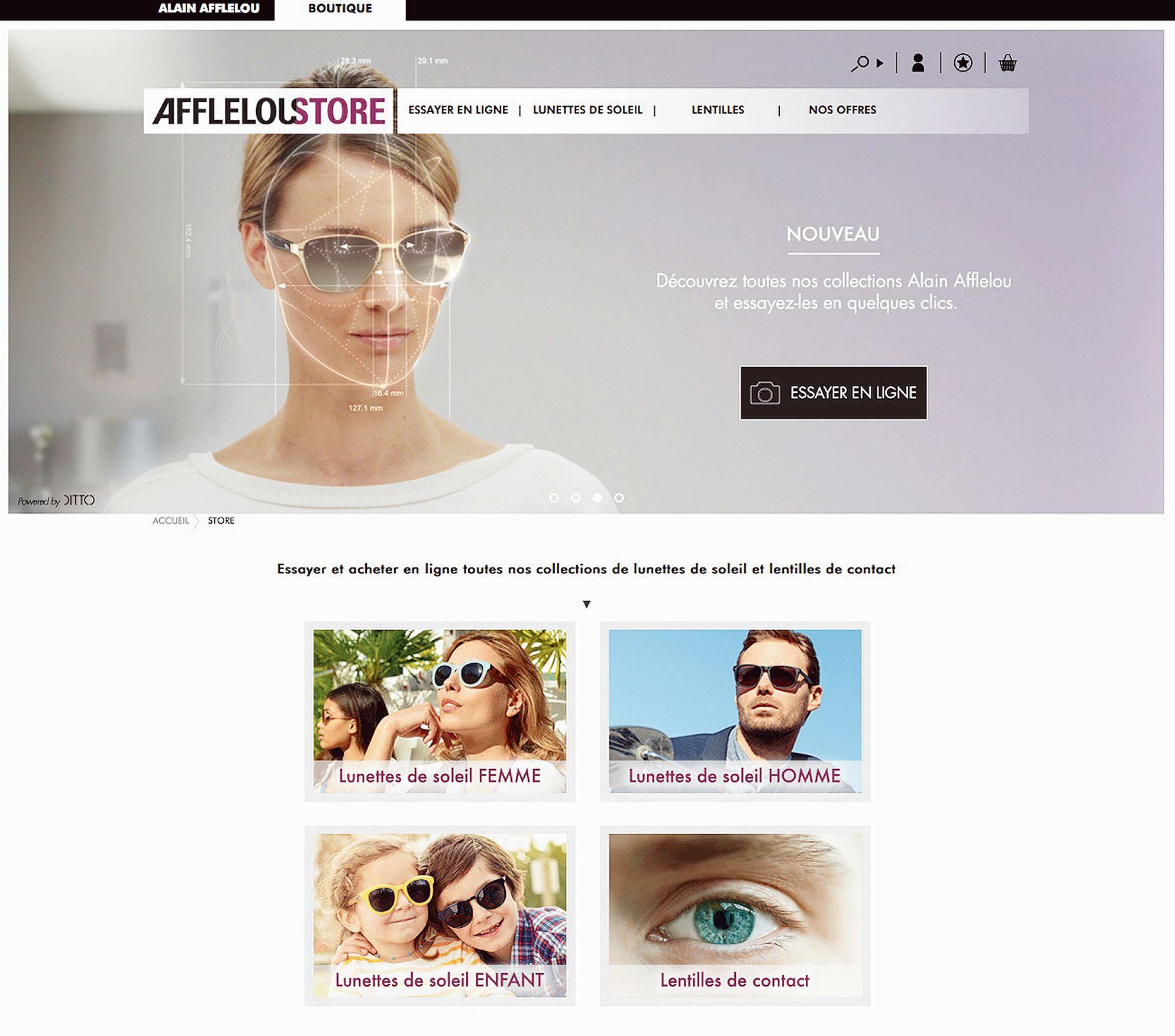 Essayer lunettes en ligne afflelou for Miroir virtuel krys