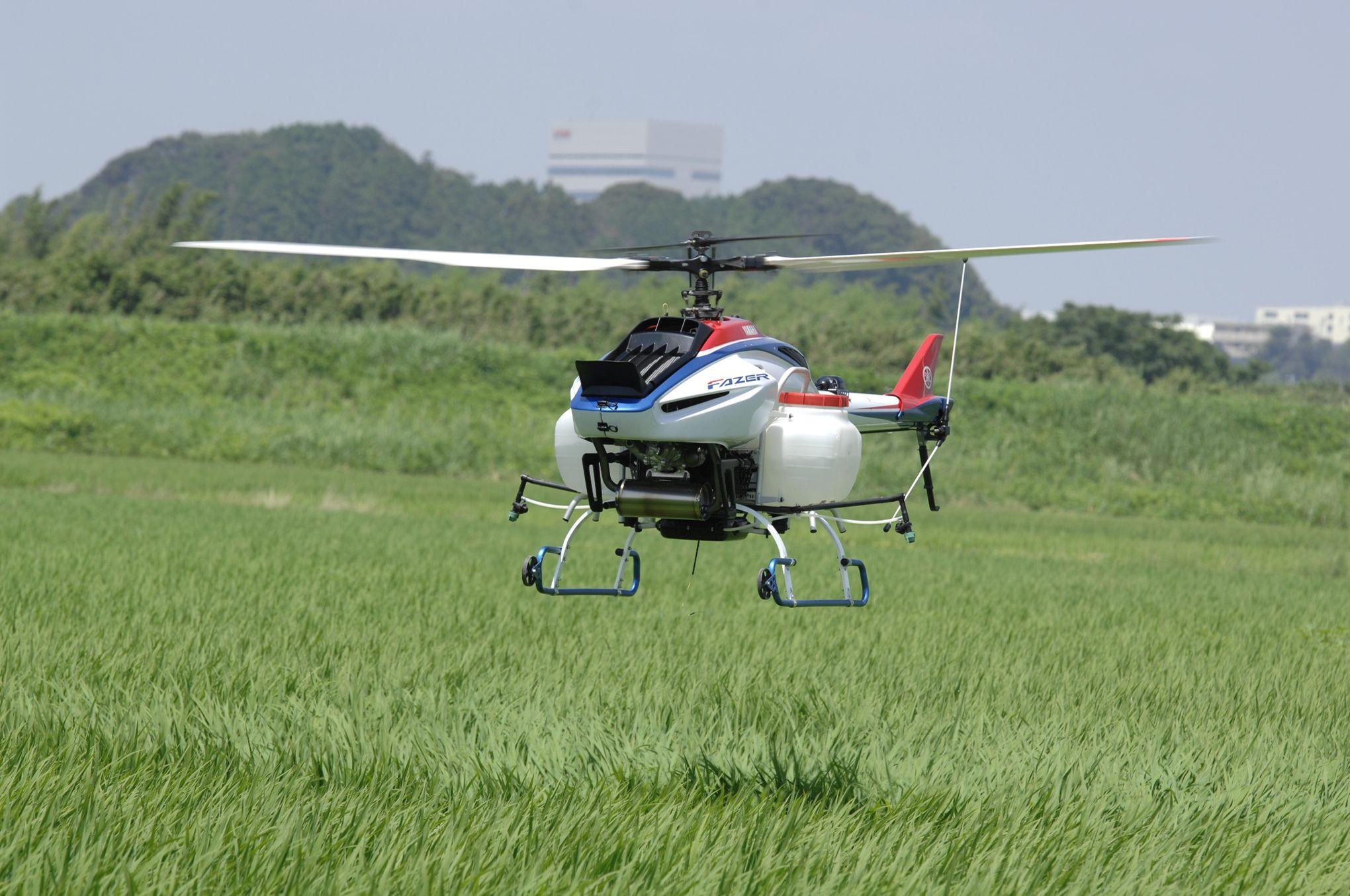 Yamaha Fazer Drone