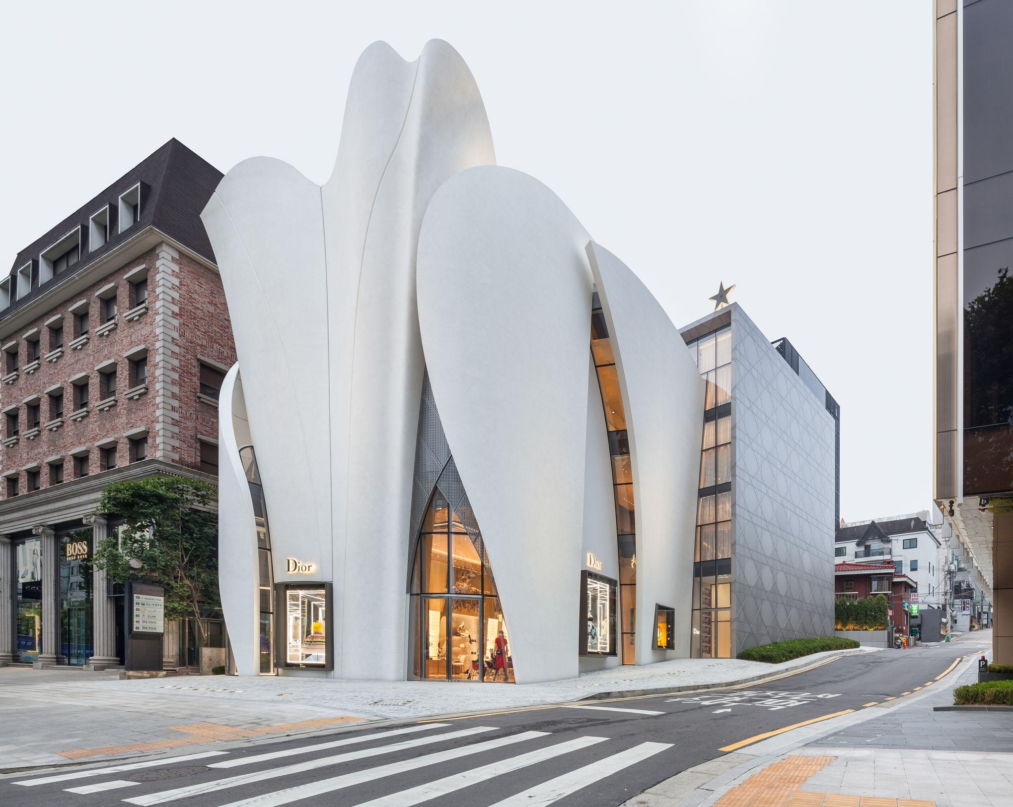 House Of Dior Seoul Cafe