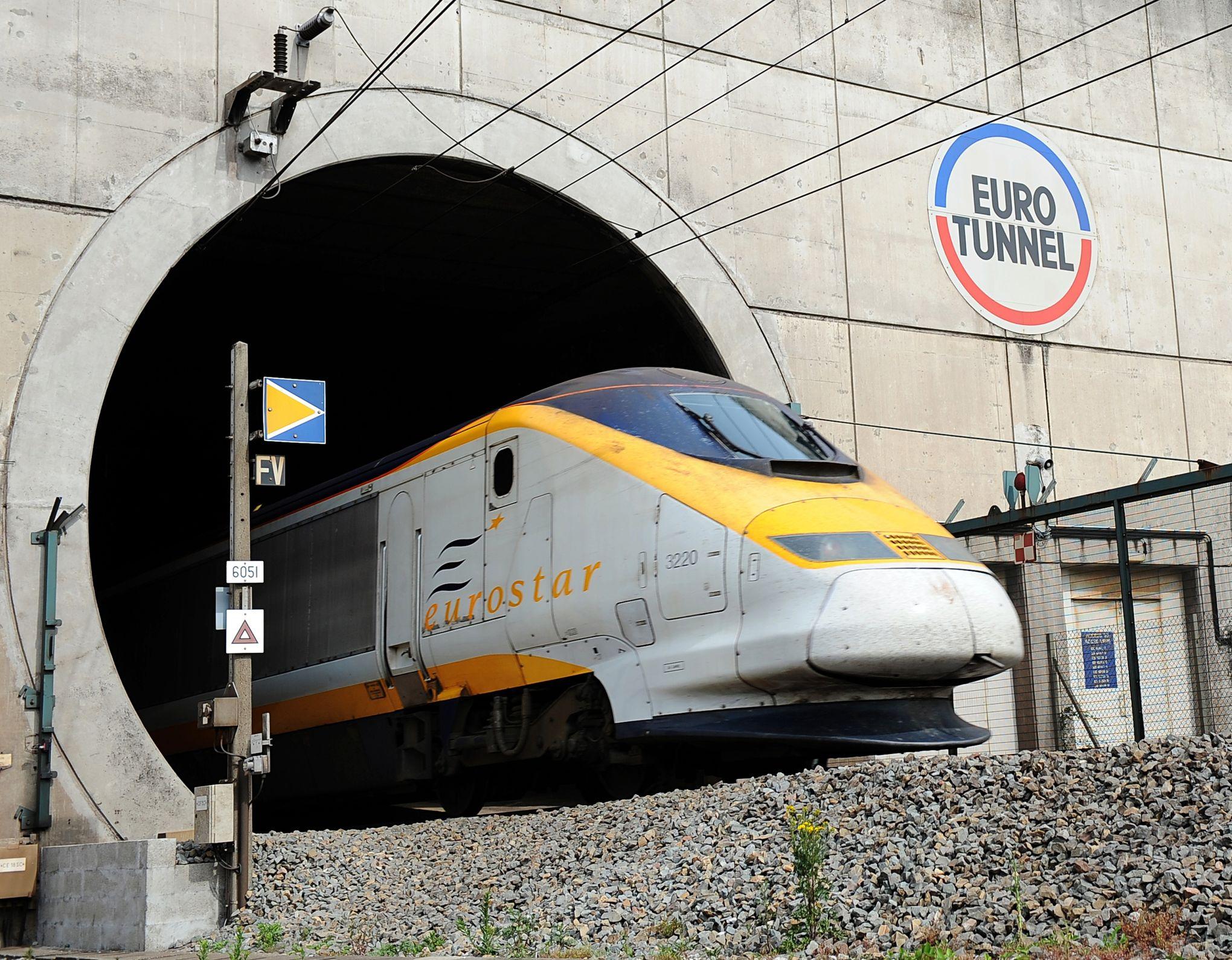 retard eurostar train