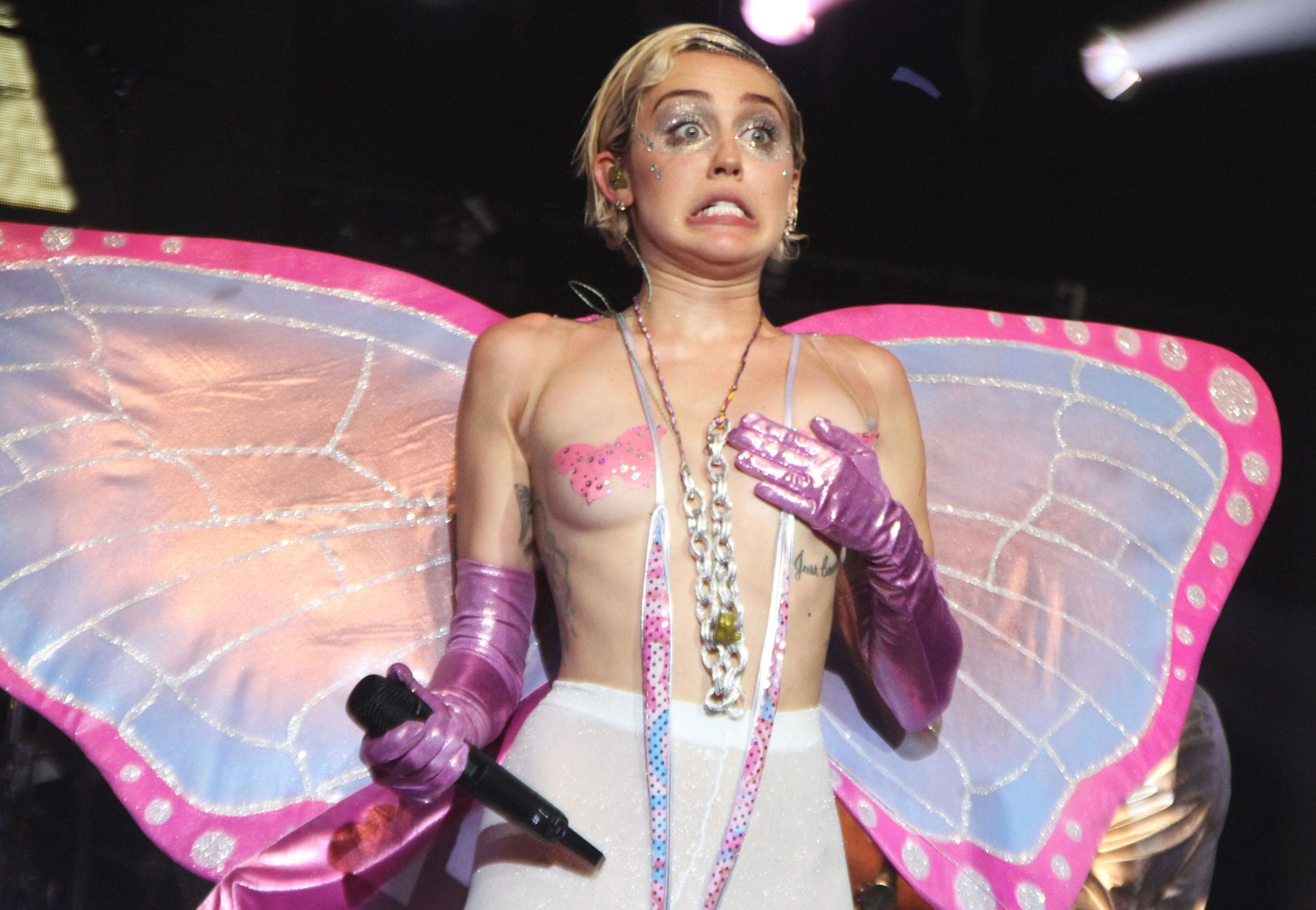 Miley cyrus nue nue