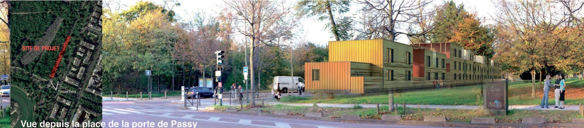 Un camp pour migrants et SDF au bord du bois de Boulogne