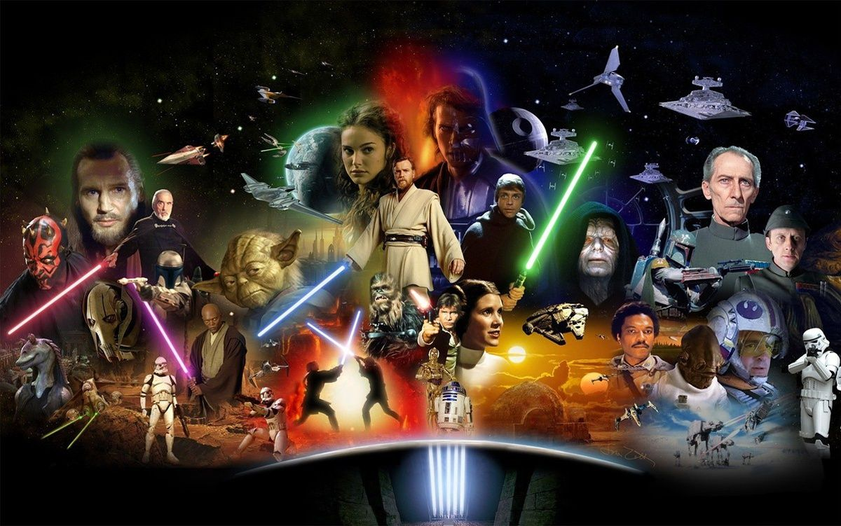 La famille star wars en huit personnages clefs - Personnage star wars 7 ...