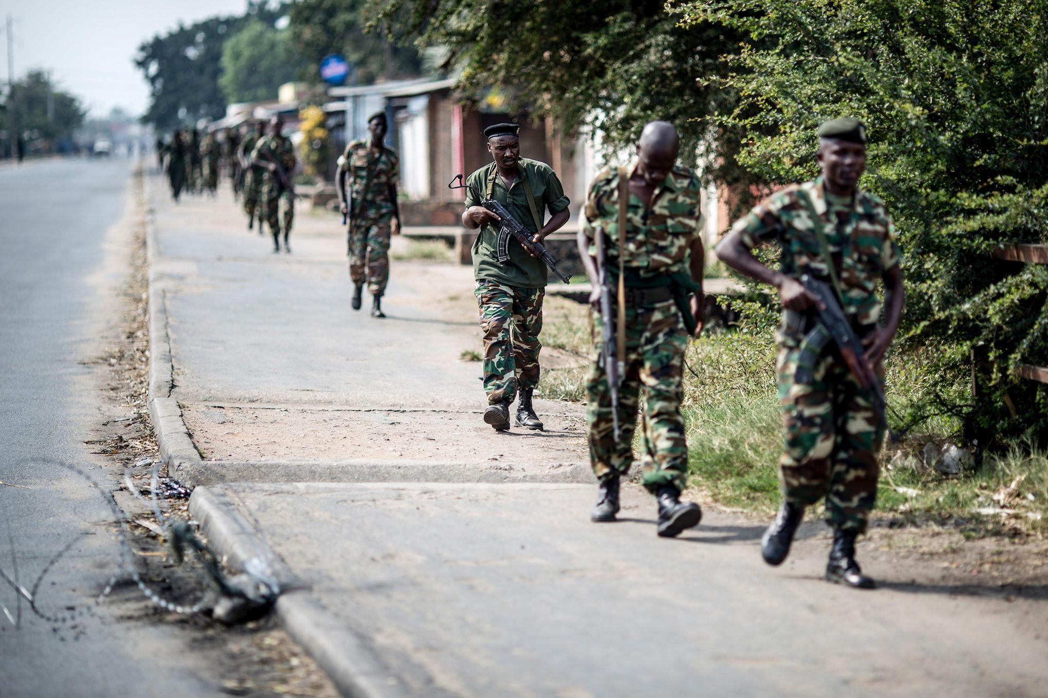 opérations de maintien de la paix en afrique