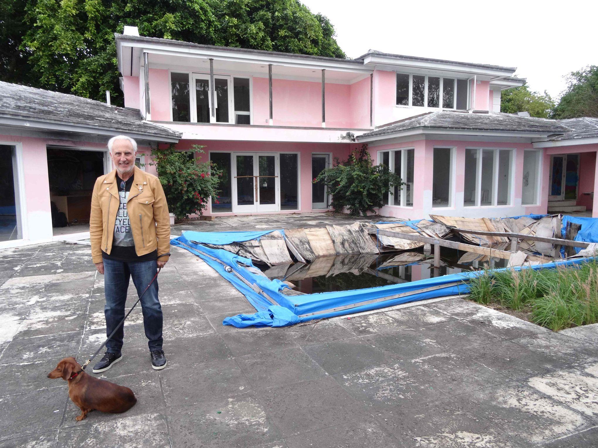 Miami un second coffre fort d couvert dans l 39 ancienne for Visite maison de star