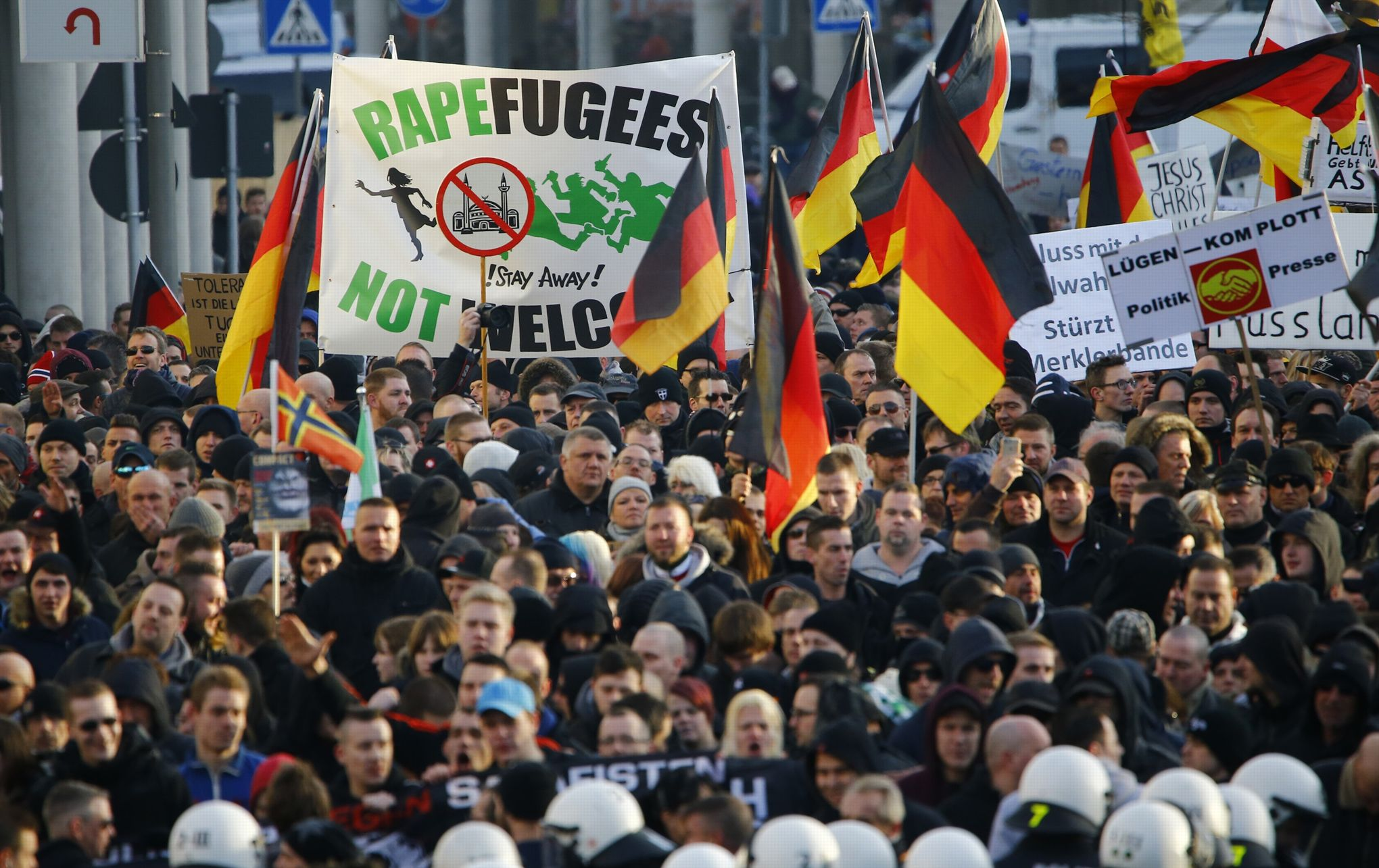 L'Europe face à la montée des partis anti-migrants