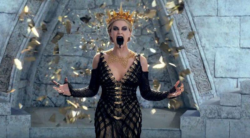 Charlize theron gla ante dans la suite de blanche neige - La reine des glace streaming ...