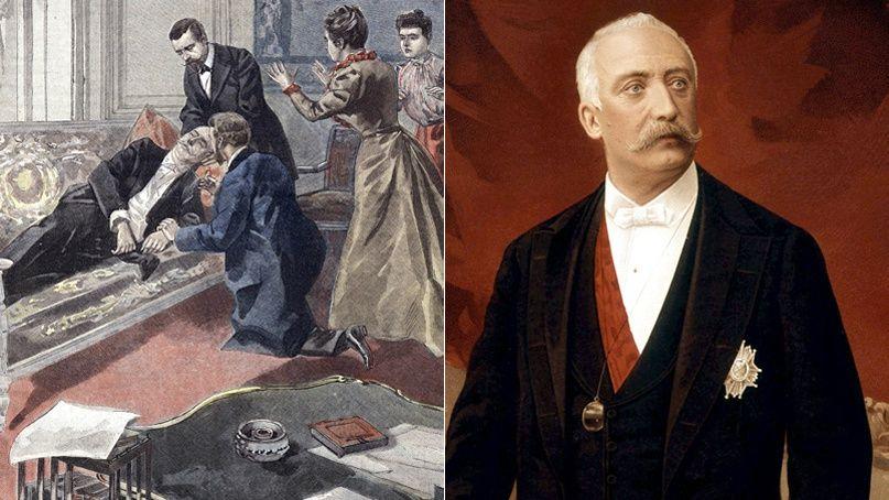 16 f vrier 1899 la mort extatique du pr sident f lix faure. Black Bedroom Furniture Sets. Home Design Ideas