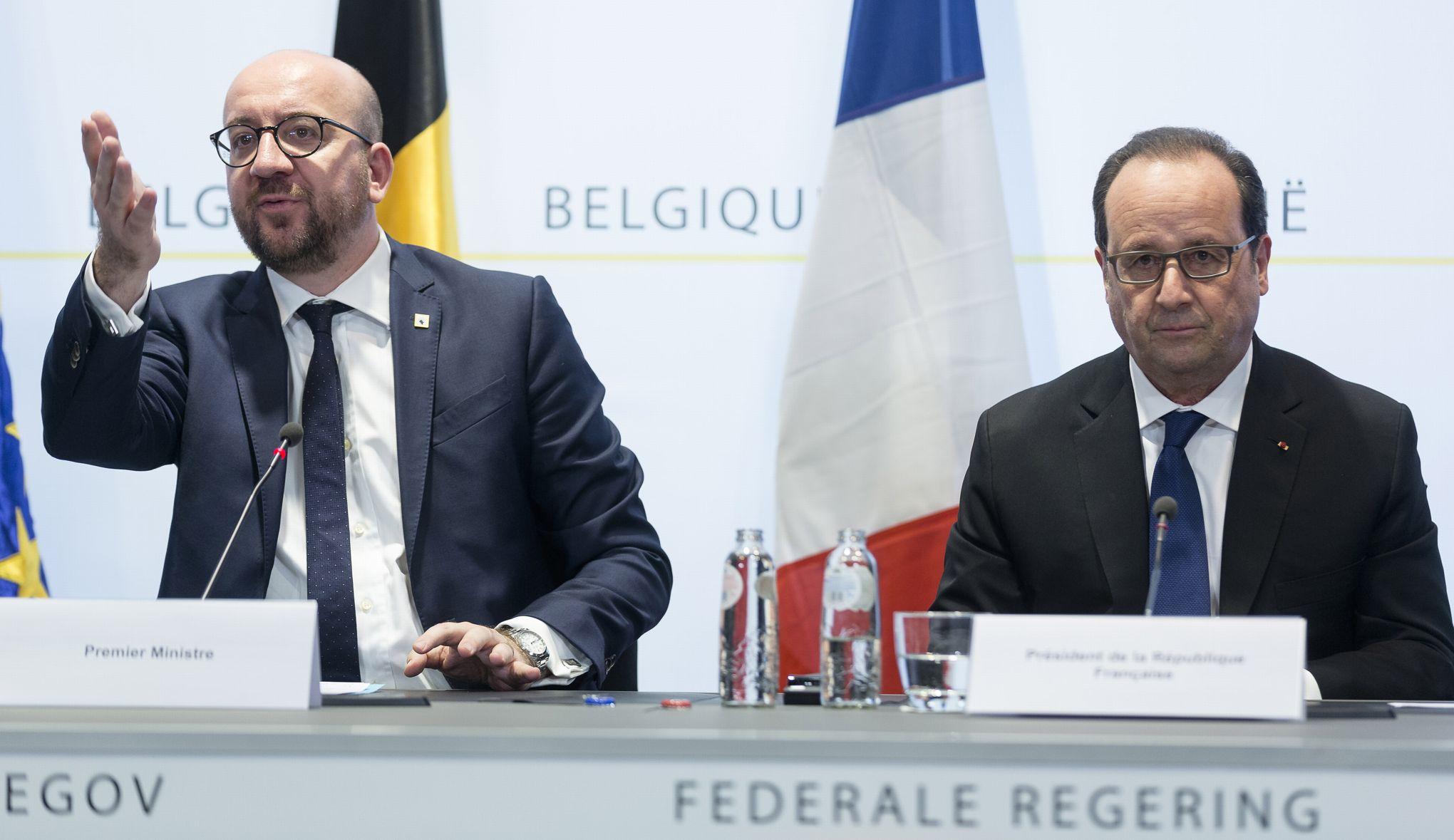 Hollande a suivi l 39 arrestation de salah abdeslam dans le bureau du premier ministre belge - Bureau du premier ministre ...