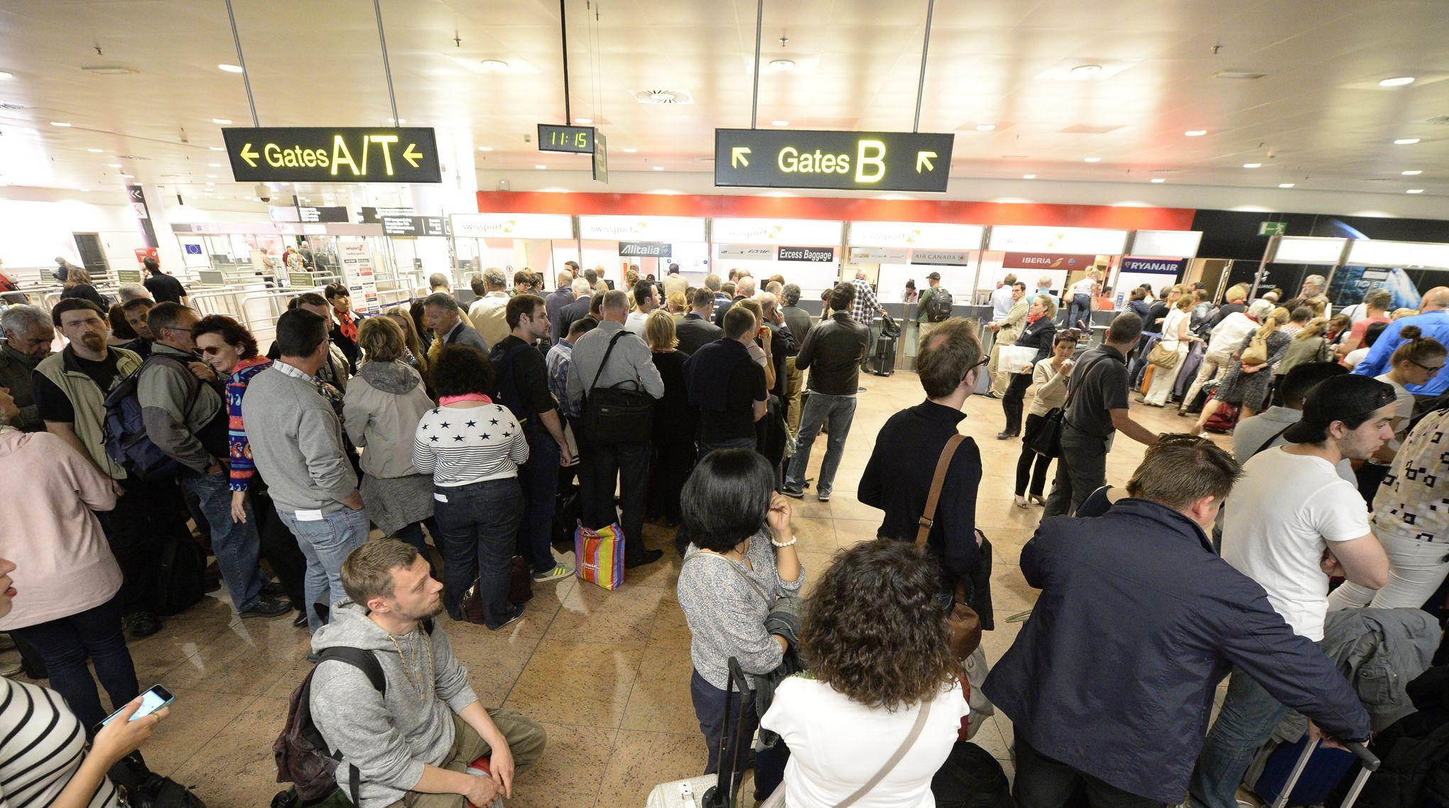 conjoncture  ARTFIG attentats a bruxelles comment le trafic aerien s organise