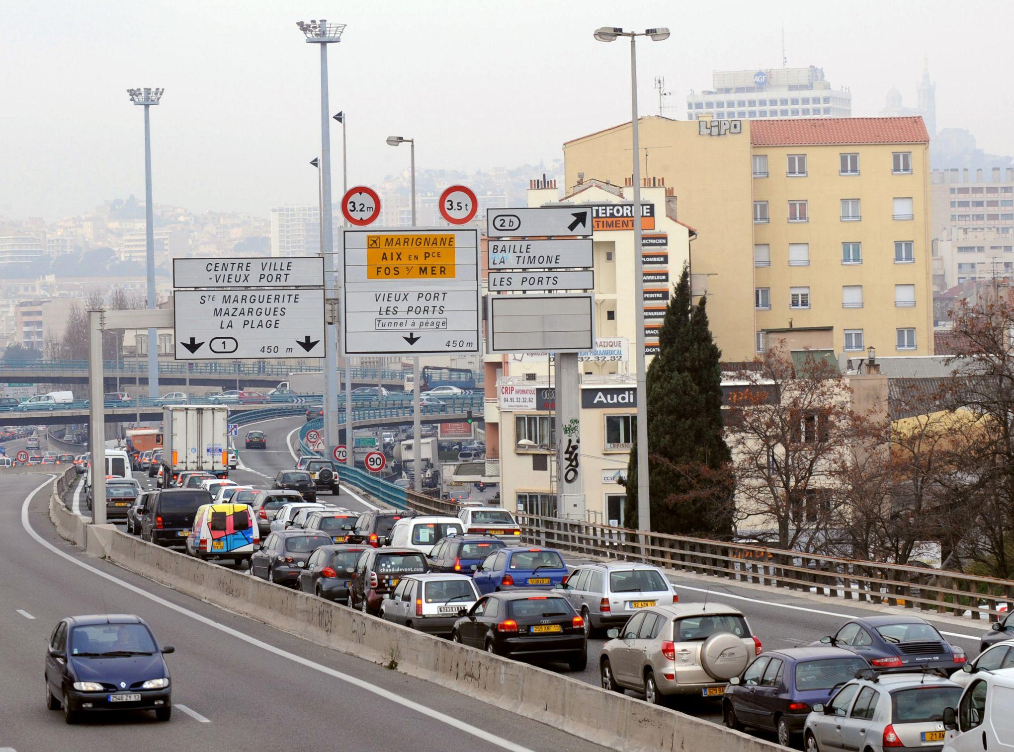 Marseille ville la plus embouteill e de france en 2015 for Piscine chauffee marseille