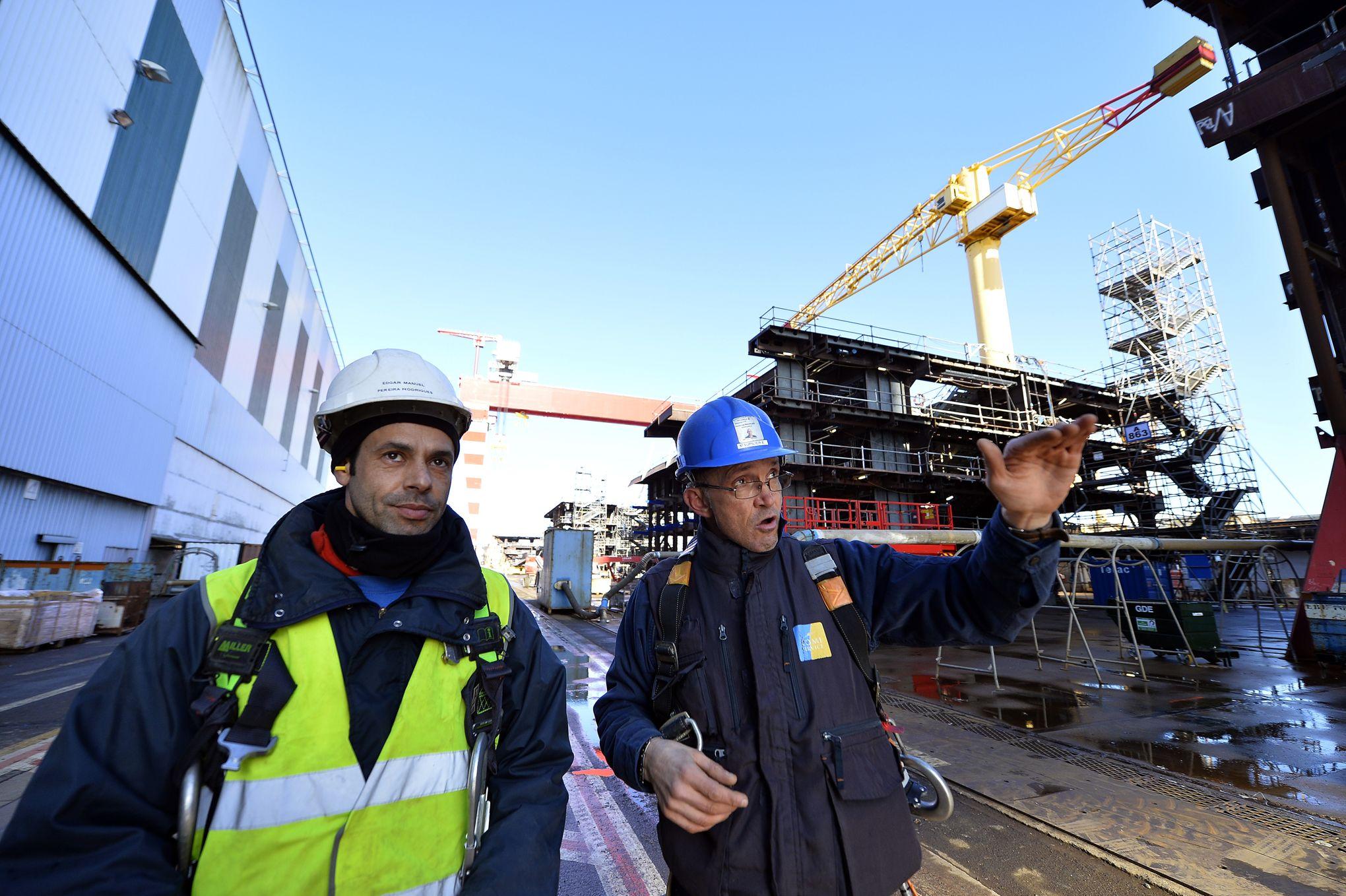 les chantiers navals de saint nazaire signent un contrat de 4 milliards avec msc croisi res. Black Bedroom Furniture Sets. Home Design Ideas