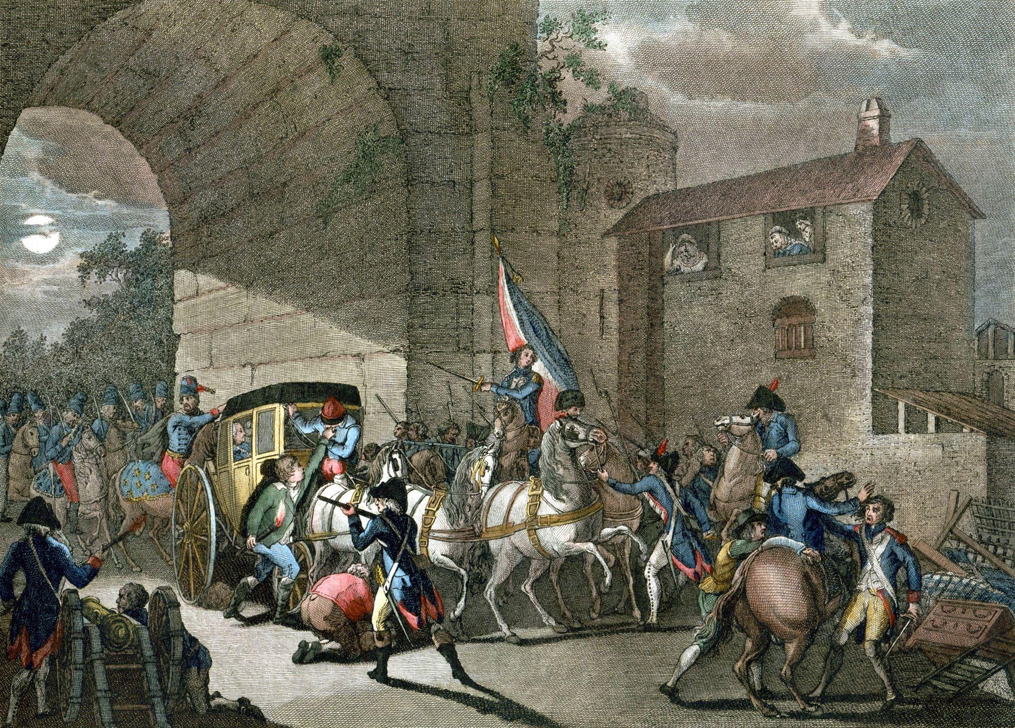 Que savez vous de l 39 arrestation de louis xvi varennes en 1791 - De truchis de varennes ...