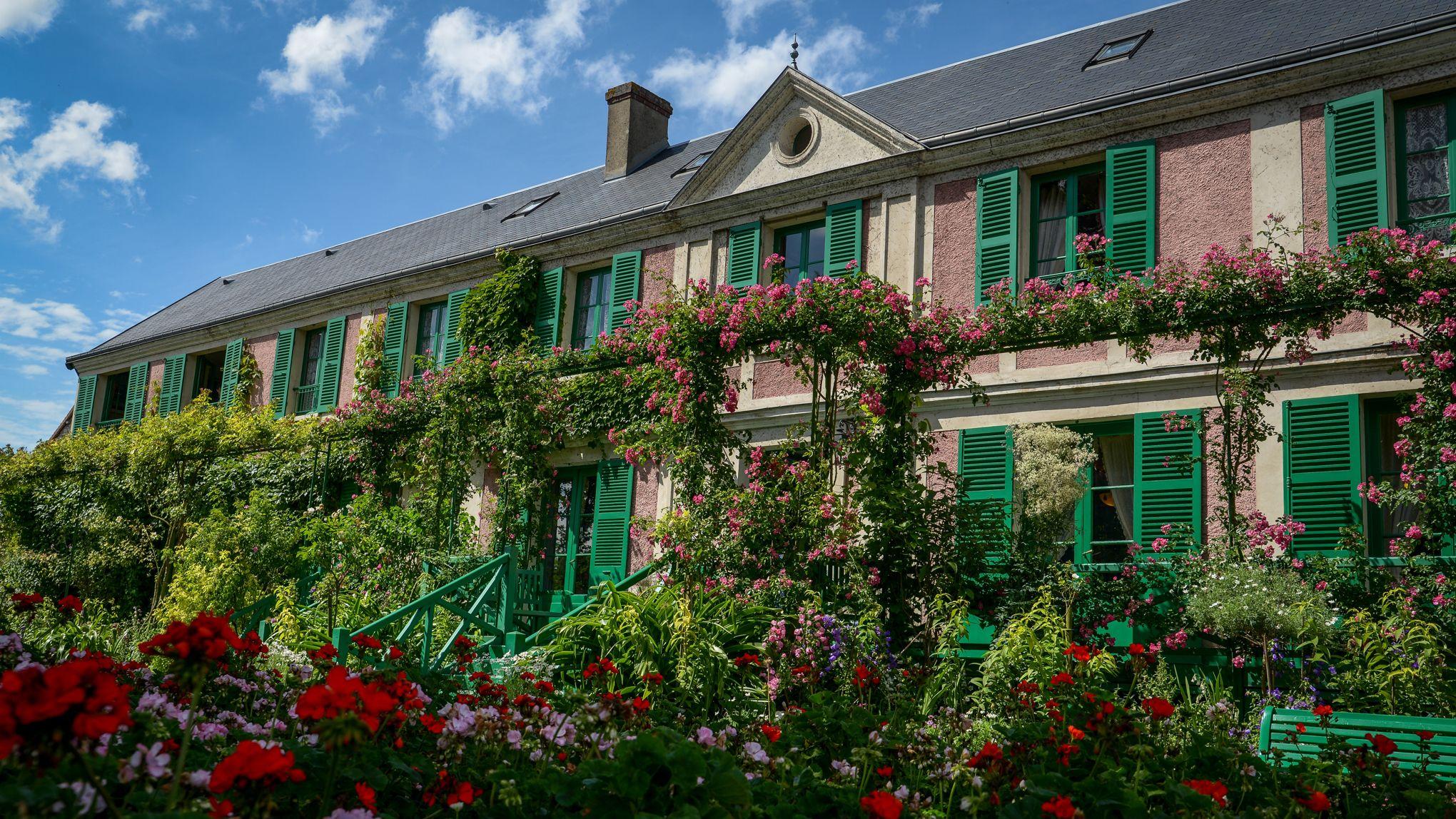 Dans les jardins de giverny tels que monet les peignait for Jardin des vins 2016 sion