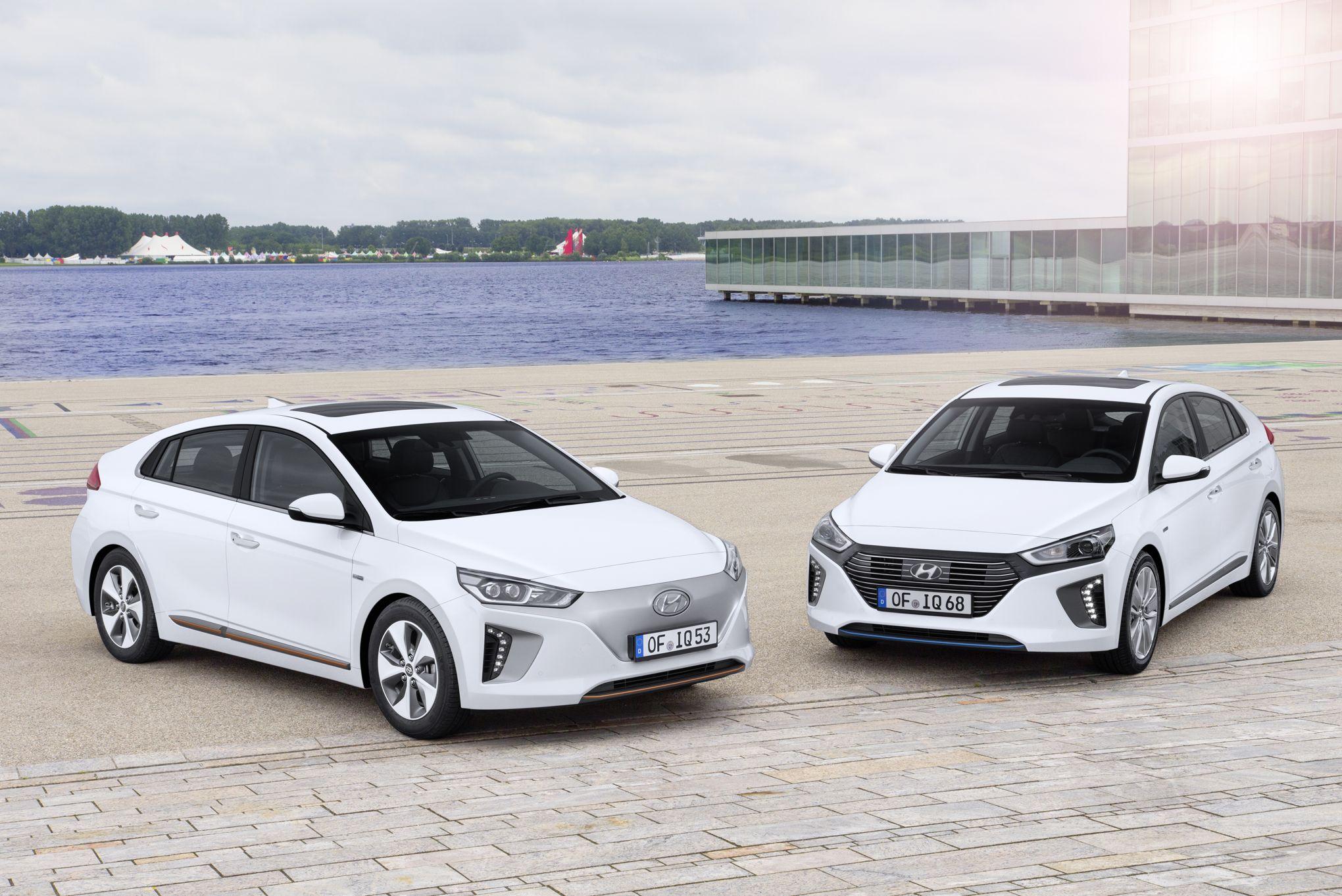 Hyundai ionic le trois en un de la berline cor enne for Garage hyundai paris 18
