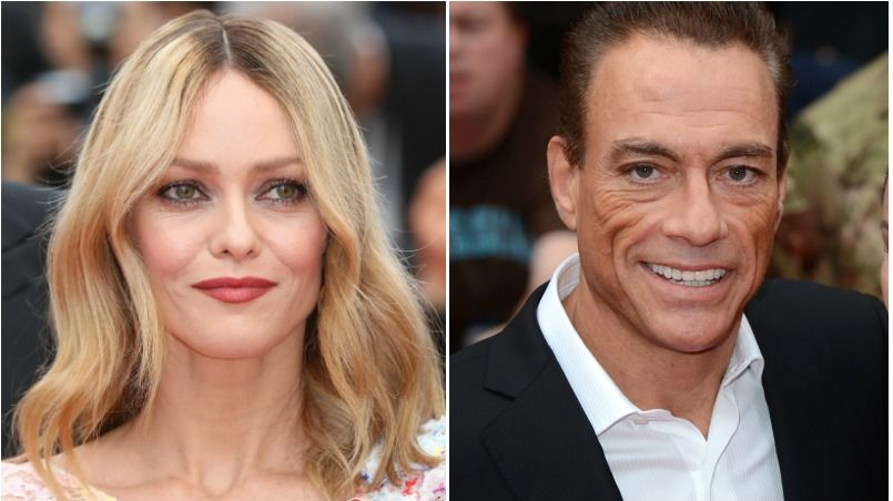 vanessa paradis et jean claude van damme un couple qui a du chien. Black Bedroom Furniture Sets. Home Design Ideas