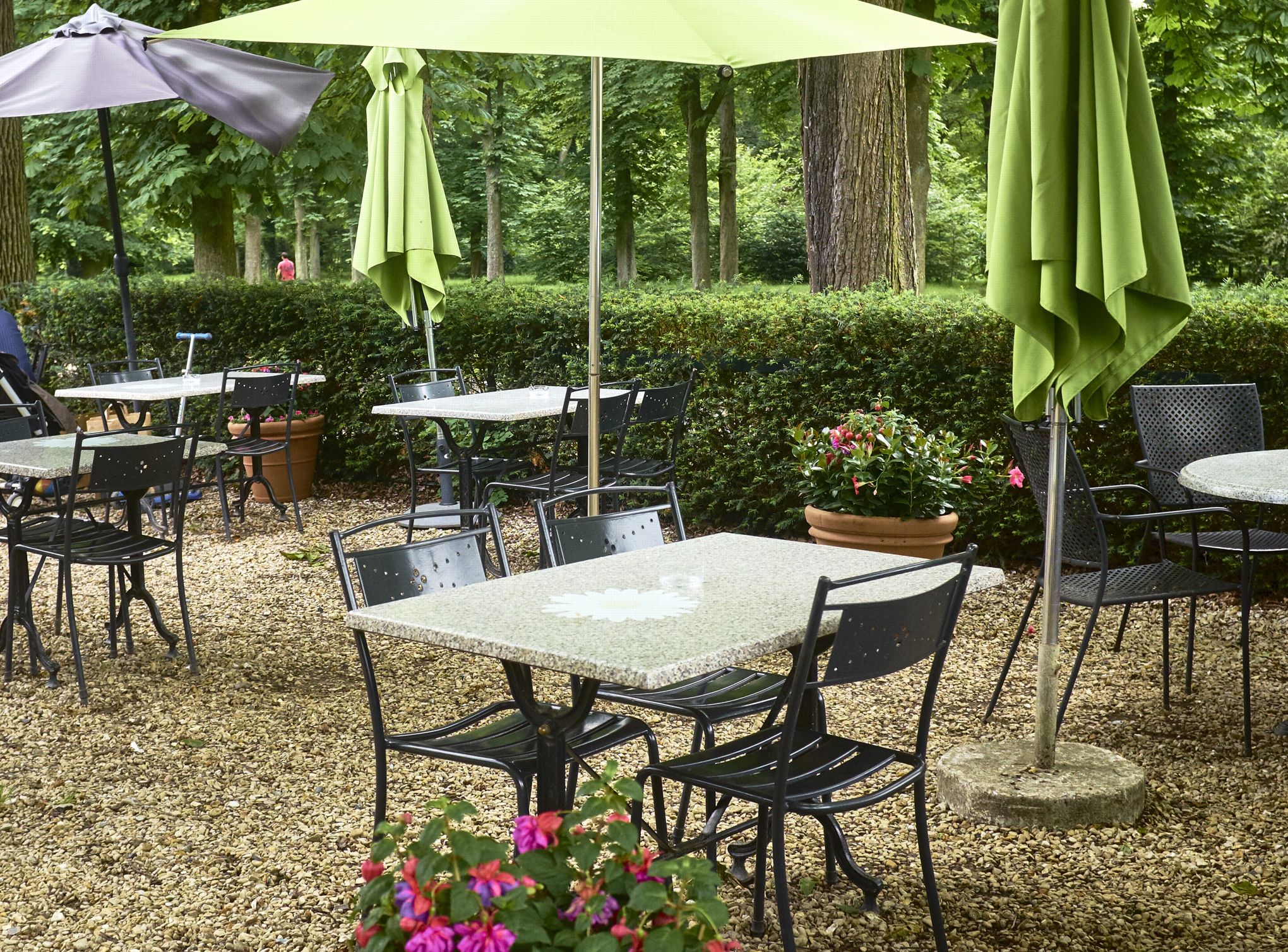Les 5 terrasses au jardin paris for Restaurant paris terrasse jardin