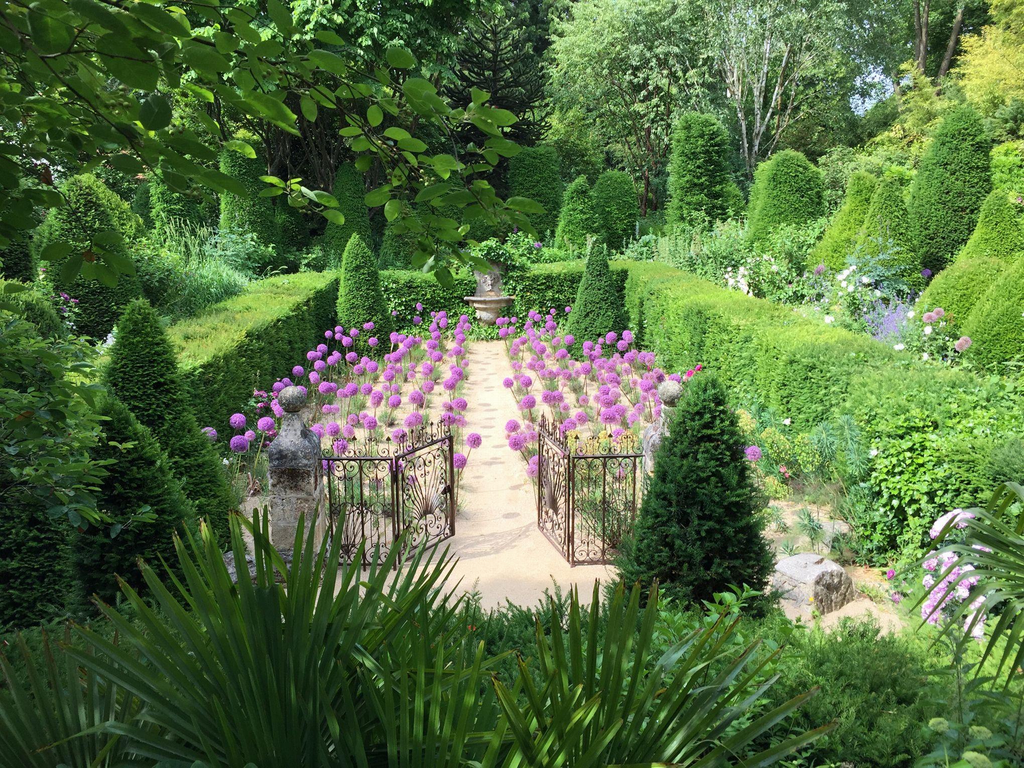 Le jardin Agapanthe paysage inventé  deux pas de Rouen