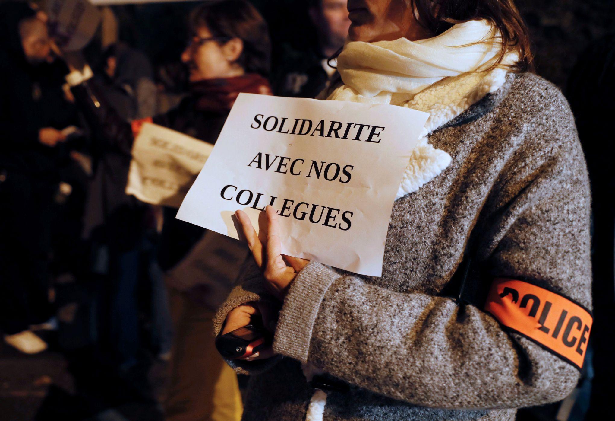 Viry-Chatillon France  city pictures gallery : Viry Châtillon : le mari de la policière blessée témoigne