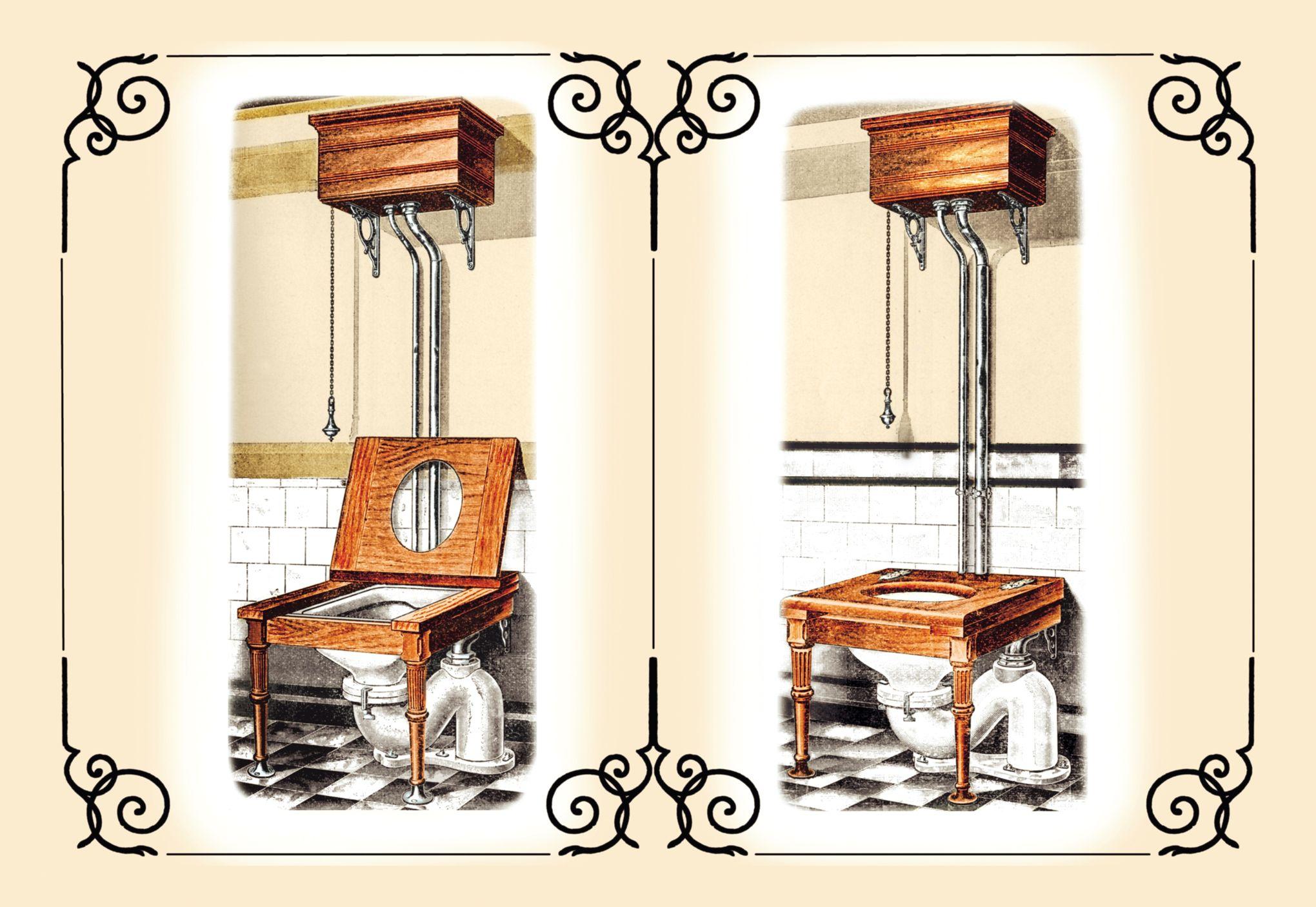 Quiz connaissez vous l 39 histoire des toilettes for Evolution de la chaise