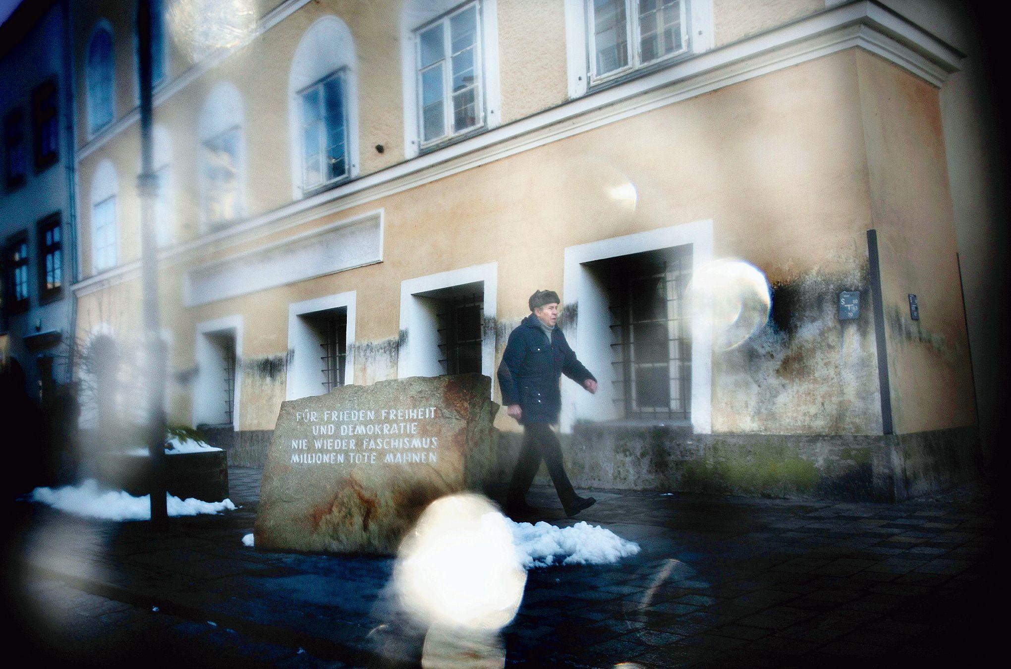 Autriche l 39 encombrante maison natale d 39 adolf hitler - Voir ma maison en direct ...