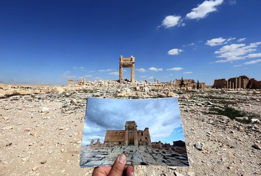 Syrie : Daech détruit de nouveaux trésors archéologiques à Palmyre