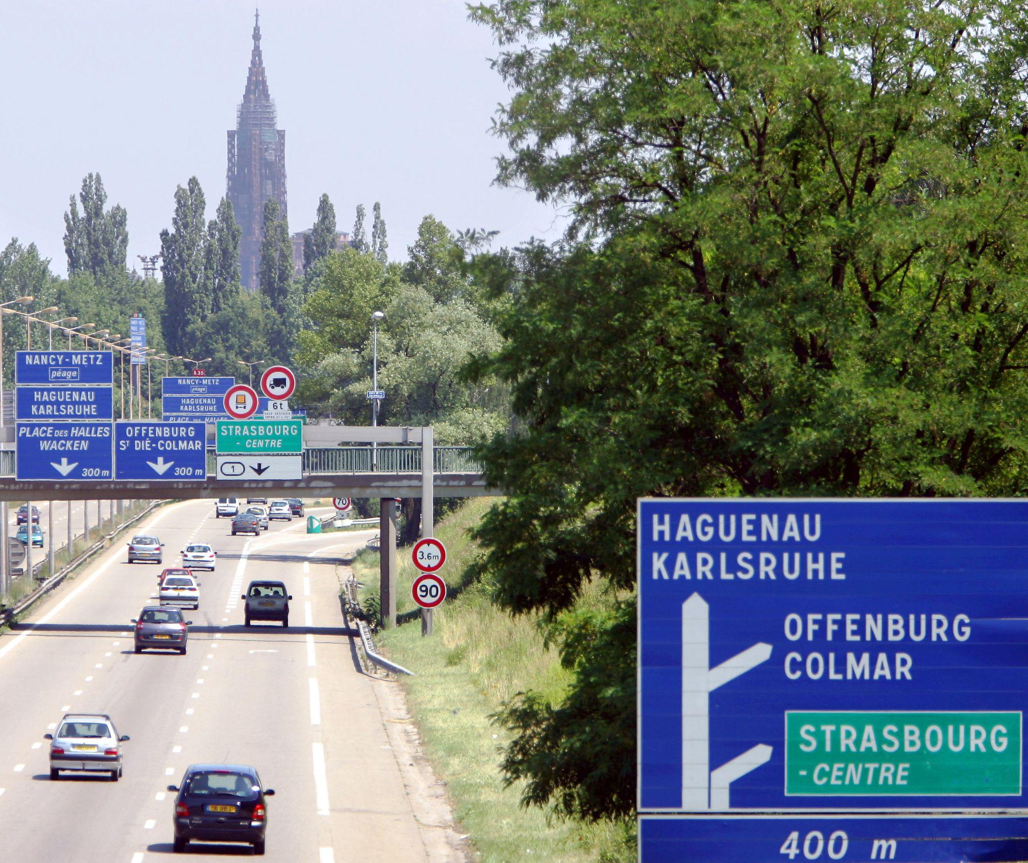 Strasbourg une ébauche de ZAD contre le projet de grand